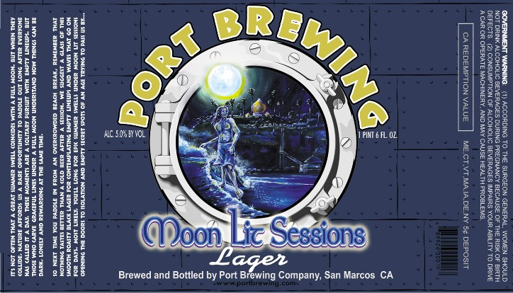 Courtesy of Port Brewing Co - Moon Lit Sessions