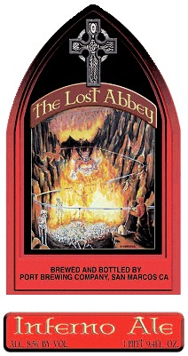 Lost Abbey Inferno Ale - Courtesy of Lost Abbey