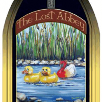 lost abbey duck duck gooze label