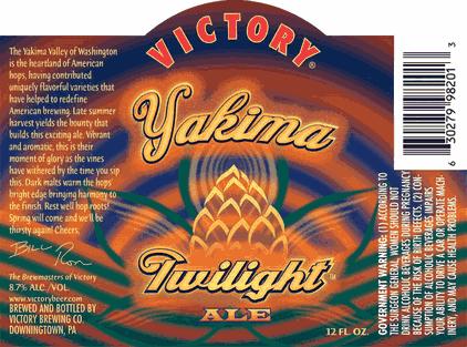 Victory Yakima Twilight Ale debuts late summer | BeerPulse