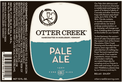 Otter Creek Solstice New Session Beer At Center Of Brewery S New Image Beerpulse