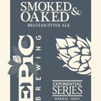 Epic Smoked and Oaked Whiskey Barrel-aged Belgian Ale