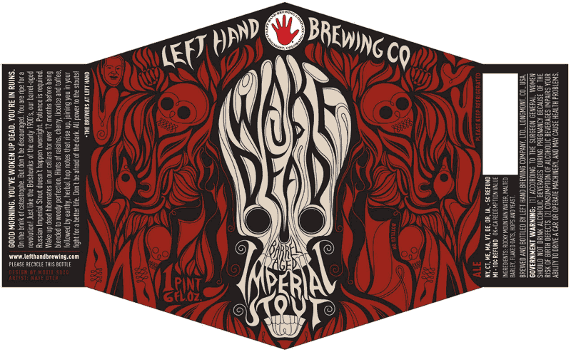 Left Hand Barrel-Aged Wake Up Dead Imperial Stout