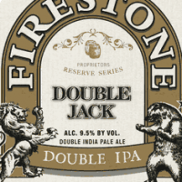 Firestone Walker Double Jack Imperial IPA label