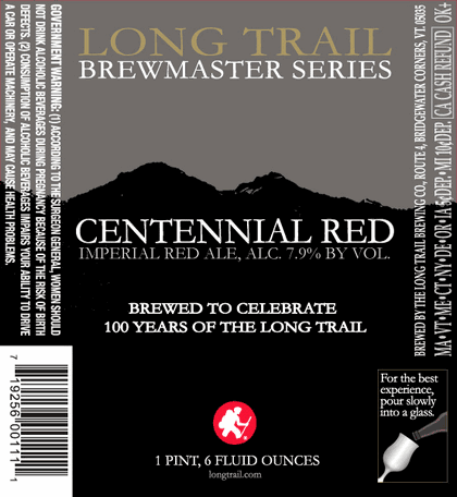 Long Trail Brewmaster Centennial Red Ale