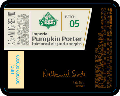 IPP Bottle Label
