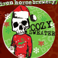 iron horse cozy sweater