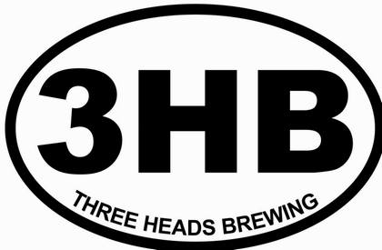 three heads brewing logo