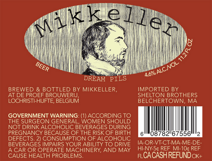 Mikkeller Dream Pils Label