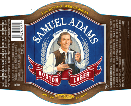 Beer labels Samuel Adams Rock Art Gearys Beer Here – Beer Label