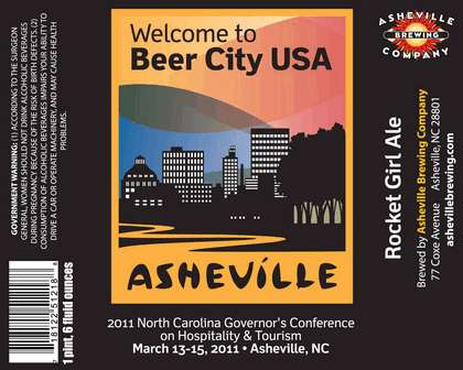 Asheville Beer City USA