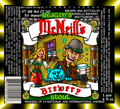 McNeill's Reagin's Stout