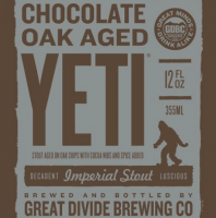 Great Divide Chocolate Oak Aged Yeti Imperial Stout