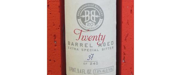Twenty 750ml Bottle