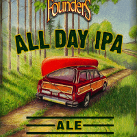 Founders All Day IPA label