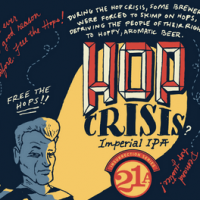 21st Amendment Hop Crisis Oak-Aged Imperial IPA