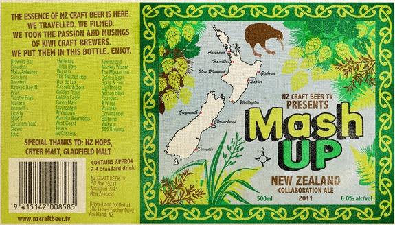 Mash Up New Zealand beer