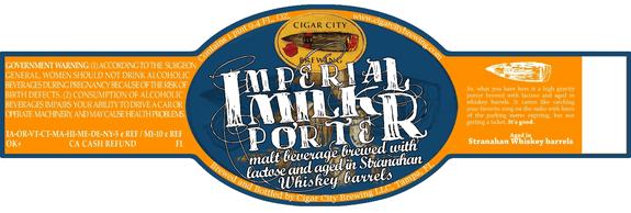imp milk porter stranahan barrels