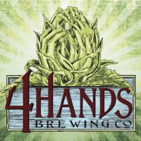4 hands brewing logo