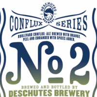 Conflux No. 2 Deschutes Boulevard label