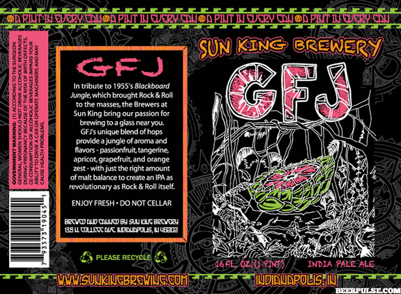 Sun King Gfj Grapefruit Jungle Ipa 16 Ounce Cans Return