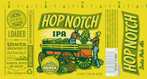 Uinta Hop Notch Can