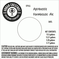 Apotheosis Keg Label 070611