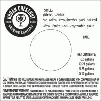 Baerenweisse Keg Label 072011
