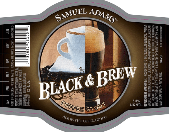 Black and Brew Coffee Stout body