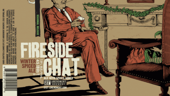 21st amendment fireside chat label
