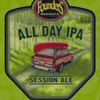 Founders All Day IPA Can Label