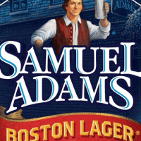 Samuel Adams Boston Lager body label