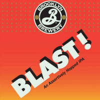 Brooklyn Blast! Hopped IPA label
