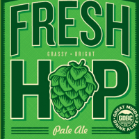 Great Divide Fresh Hop Pale Ale label