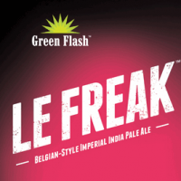 Green Flash Le Freak label