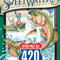 SweetWater 420 Extra Pale Ale label