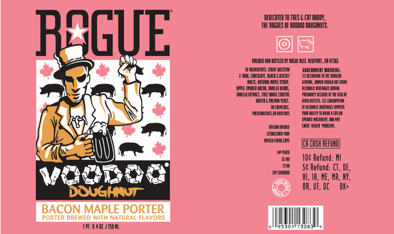 Voodoo Doughnut Bacon Maple Porter-bj