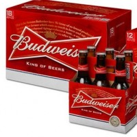 budweiser bottle packaging