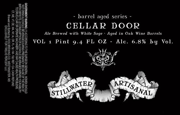stillwater cellar door barrel aged