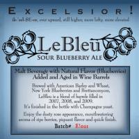 ithaca lebleu sour blueberry ale