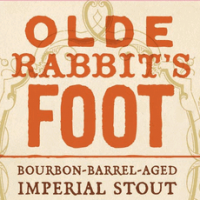 Olde Rabbits Foot Bourbon Barrel Aged Imperial Stout