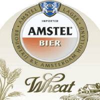 Amstel Wheat 12oz Front label