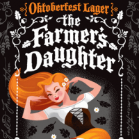 Grimm Brothers Farmers Daughter Oktoberfest label