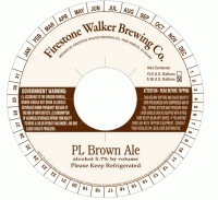 Firestone Walker PL Brown Ale