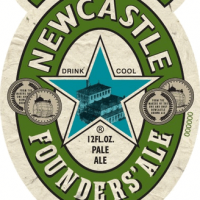 Newcastle Founders Ale 12oz front label