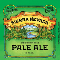 Sierra Nevada Pale Ale can label