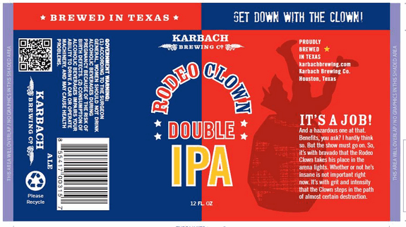 Karbach Rodeo Clown Double Ipa Beerpulse