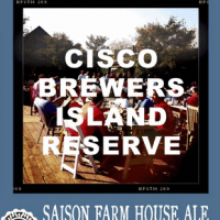 Cisco Brewers Island Reserve Saison Farm House Ale