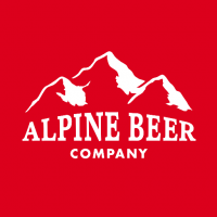 alpine beer company logo beerpulse