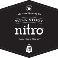 Left Hand Nitro Milk Stout label